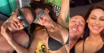 Anna Tatangelo e il fidanzato Livio Cori non si nascondono più: anzi, vivono già assieme…