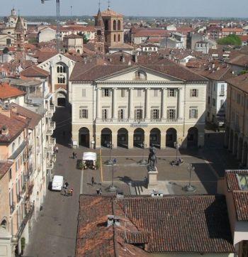Piazza Mazzini  dall'alto- I