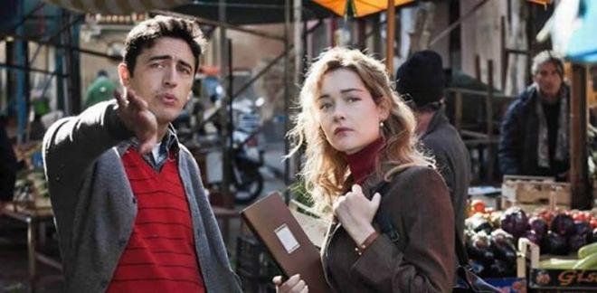 Pif e Cristiana Capotondi