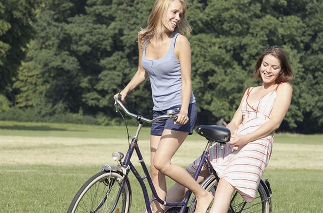 modelle in bicicletta - L