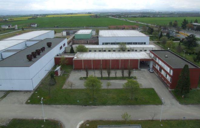 L'impianto delle fabbricazioni nucleari di Boscomarengo