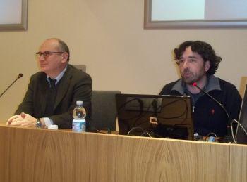 Aulo Chiesa e Stefano Bonafede che si sono occupati del'organizzazione della parteciapzione ad Expo