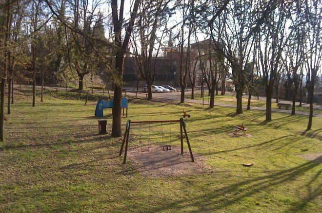 La'rea in cui verrà realizzato il nuovo parco giochi