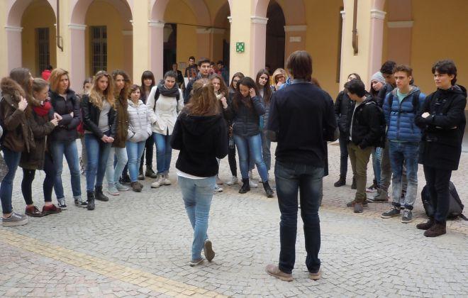 Anche i giovani del liceo Peano alle Giornate del fai di Tortona