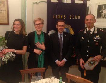 Il Lions Club Vignale Monferrato ha festeggiato i duecento anni di storia dell'Arma dei Carabinieri