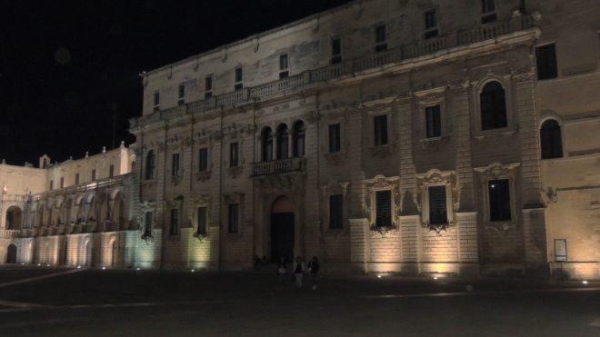 Lecce altro scorcio di piazza Duomo