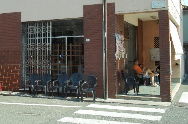 Il bar Fiorentina con la chiusura di fortuna