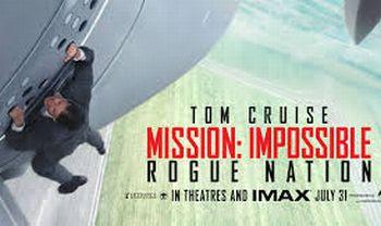 """Cinema: """"Mission Impossible – The Rogue Nation"""" azione, scene spettacolari tanto altro per oltre 2 ore da brivido"""