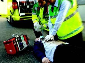 Felizzano, motociclista in arresto cardiaco dopo l'incidente, salvato dall'elisoccorso del 118