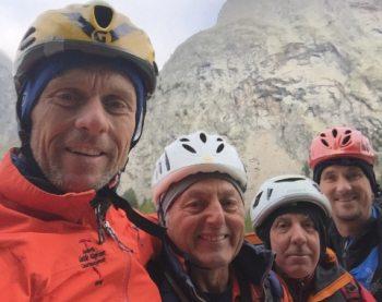 La sezione del CAI di Tortona apre un nuovo itinerario sulla Punta Innominata al Monte Bianco