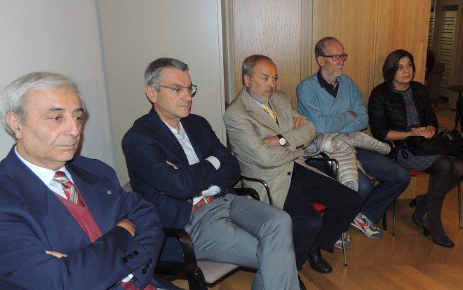 Alcuni presenti all'incontro