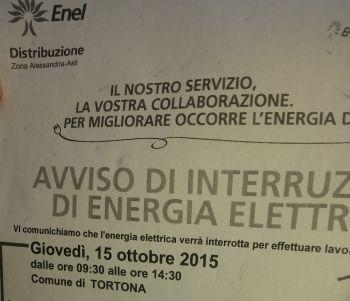 Lavori a Tortona e Mombisaggio, qualcuno era stato avvisato