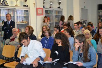 Gli studenti del Marconi alla conferenza scientifica