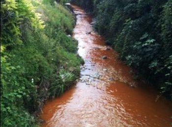 C'è un torrente inquinato a Tortona, ma nessuno dice niente