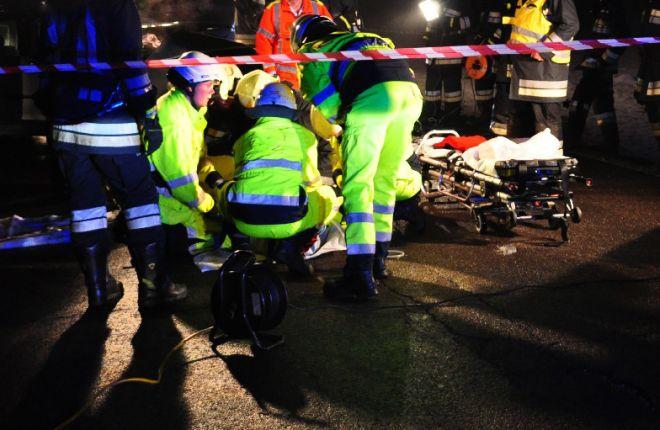 Un morto e 3 feriti in un grave incidente a Felizzano sull' A/21 a causa della nebbia. Parla un pompiere