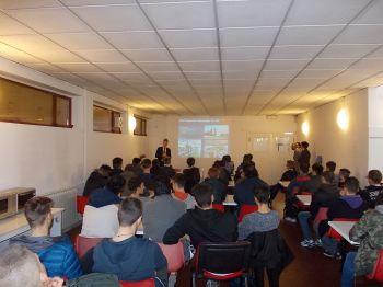 """La Gefit di Fubine ha ospitato i giovani dell'Istituto """"Volta"""""""
