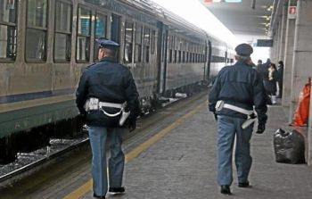 """Incontro della Polfer per il  progetto """"Train to be cool""""  presso la sede dell'Alessandria calcio"""
