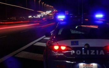 Ad Ovada una fiat 500 inseguita per 25 Km dalla polizia stradale con gimkane sull' A/26