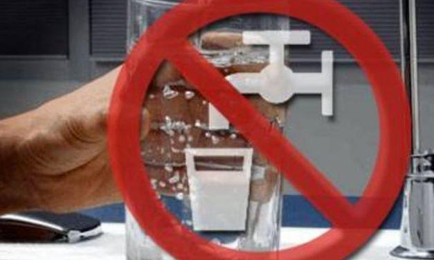 Attenzione: l'acqua non è potabile in una parte del Comune di Novi Ligure