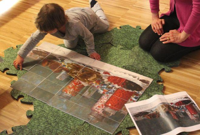 Al Divisionismo i bambini tortonesi imparano l'arte giocando