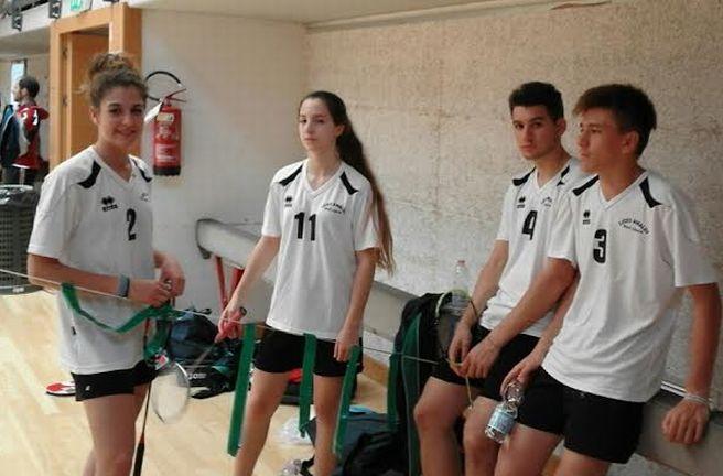 Il liceo Amaldi di Novi quinto ai campionati nazionali studenteschi di Badminton