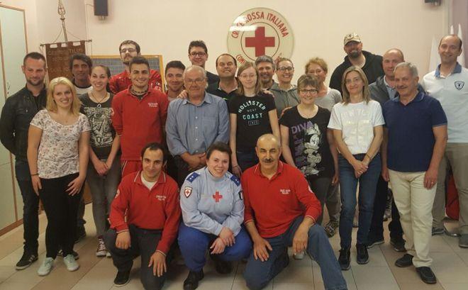 Nuove qualifiche per i volontari della Croce Rossa di Casale Monferrato