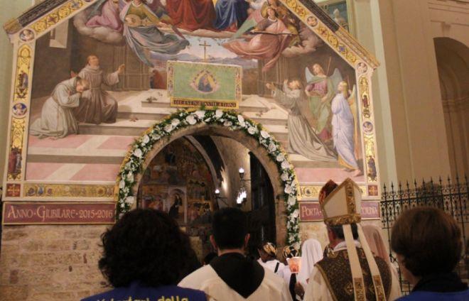 Tortona alla festa del perdono di Assisi