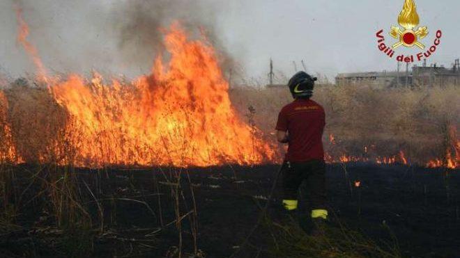 Incendio sulla linea ferroviaria Pontecurone – Voghera