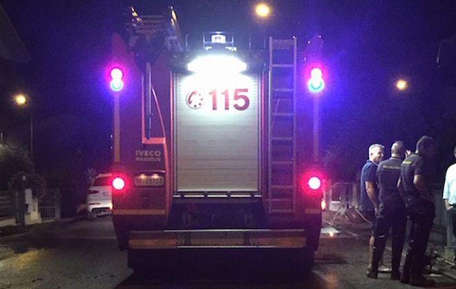Serata e notte impegnativa per i Vigili del Fuoco di Alessandria con 4 diversi interventi fra cui un gatto salvato