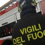 Camion di gomme in fiamme sul territorio comunale di Pontecurone