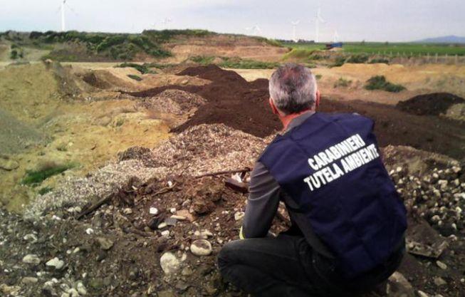 I carabinieri del Noe denunciano il proprietario di un'azienda tortonese per non corretta gestione dei rifiuti