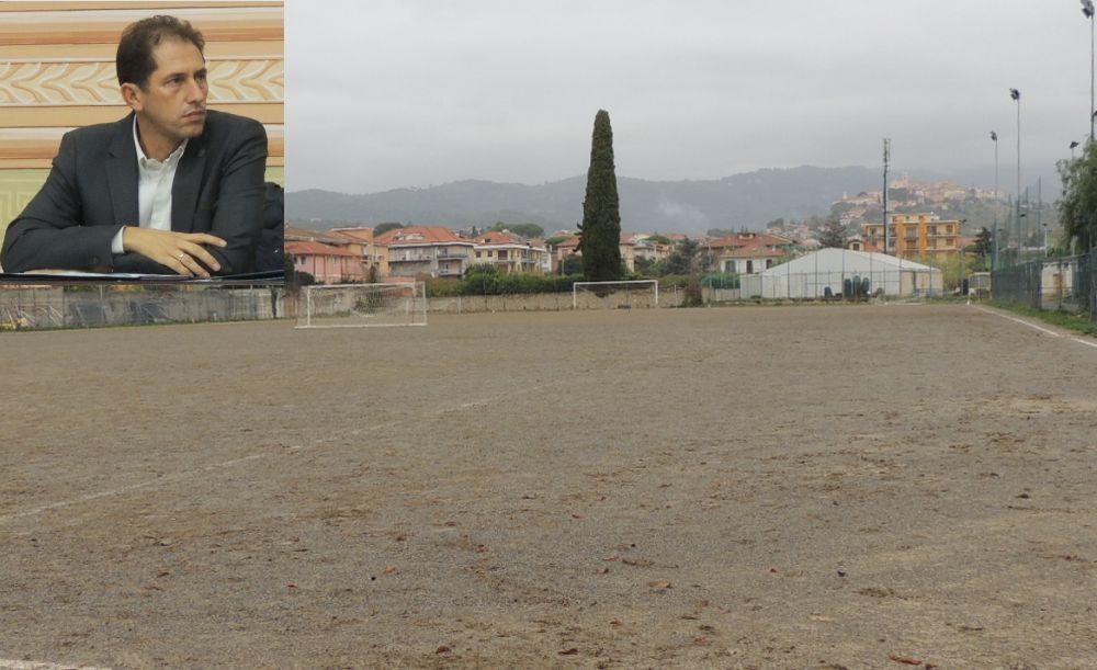 """Za Garibaldi: """"Diano Marina avrà un nuovo campo sportivo. Il progetto è già in fase avanzata, lavori al via in estate."""""""