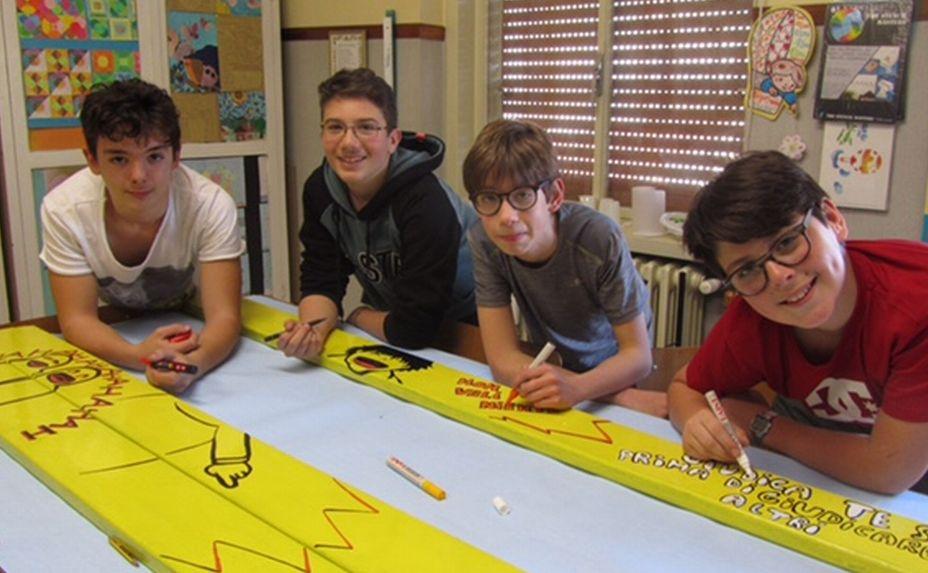 A Casale Monferrato Cinque panchine gialle contro il bullismo, sabato 13 maggio la presentazione