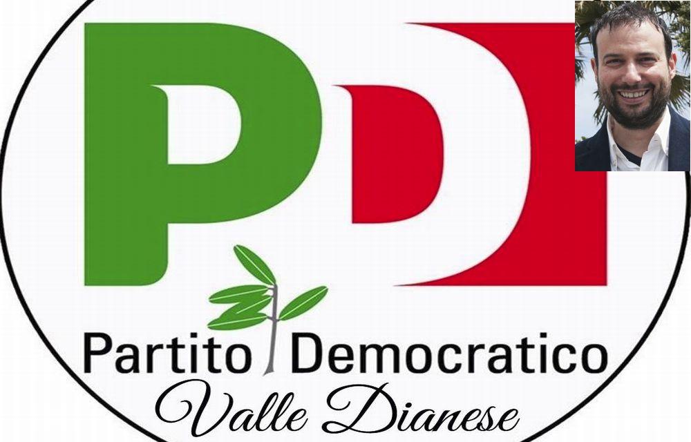 Le condoglianze del PD valle Dianese alla famiglia Guglieri per la scomparsa dell'ex sindaco Andrea