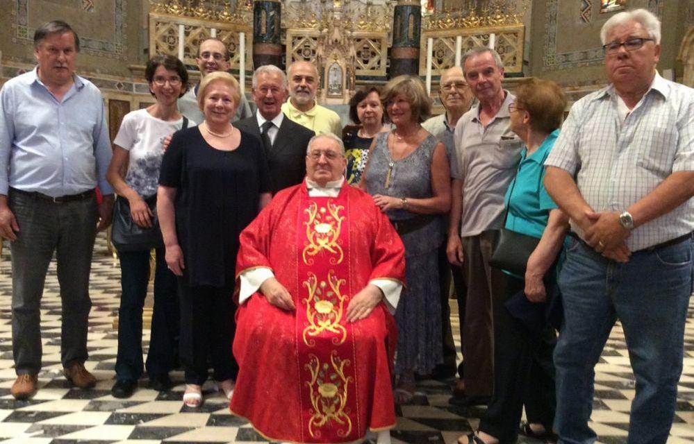 A Tortona Don Giuliano Baldi ha celebrato il 50° anniversario di ordinazione sacerdotale