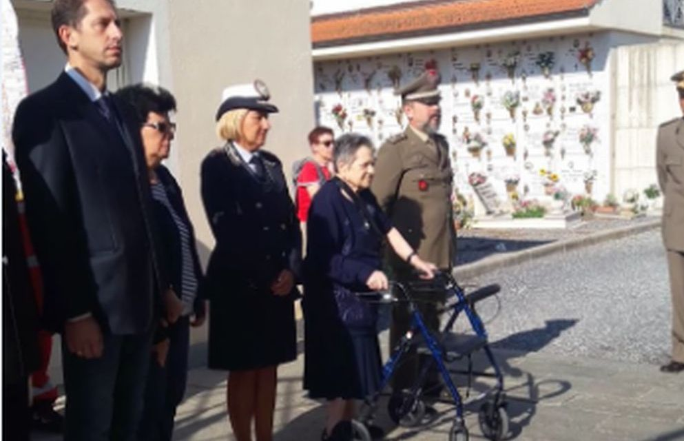 Diano Marina ha ricordato uno dei suoi eroi: l'alpino Giorgio Langella morto 11 anni fa a Kabul