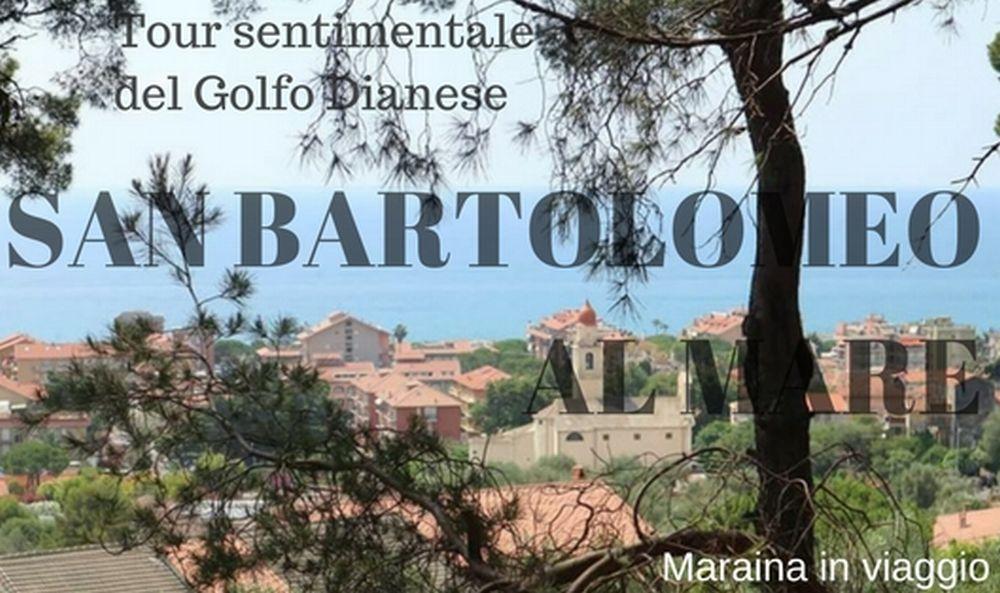 Da Firenze un disperato amore per San Bartolomeo e il Golfo Dianese: i luoghi natii finiscono nel blog dei viaggi