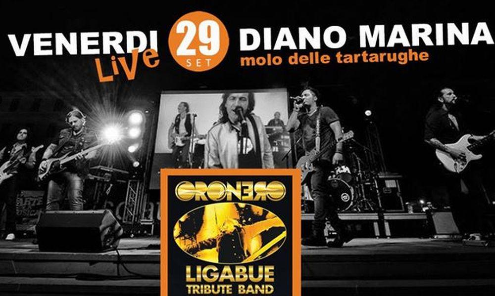 A Diano Marina domani sera il concerto gratuito degli Oronero con Tributo a Ligabue