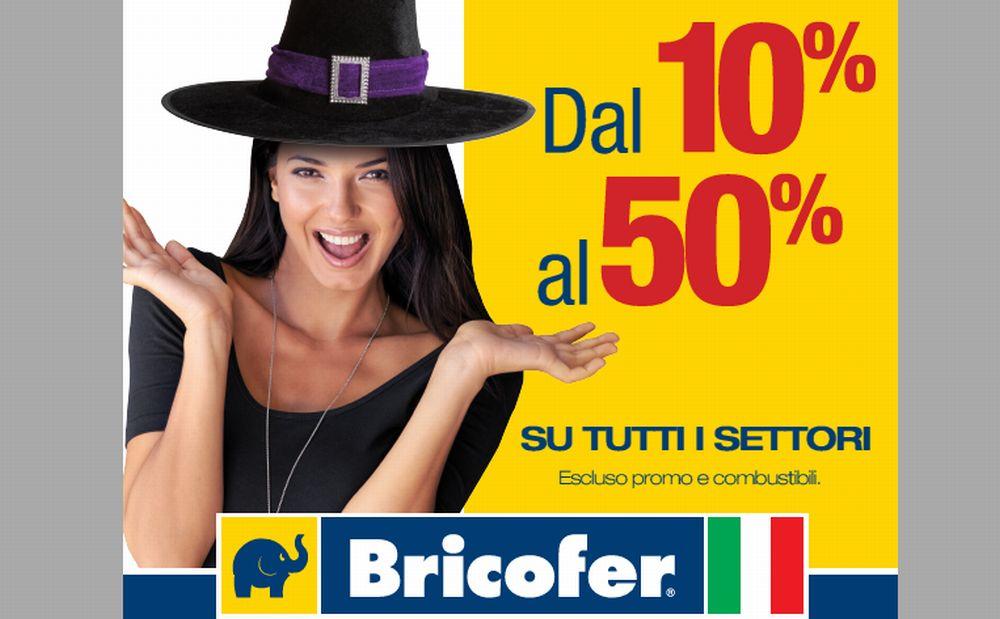 Sabato e Domenica da Bricofer a Tortona si possono fare acquisti con sconti fino al 50%