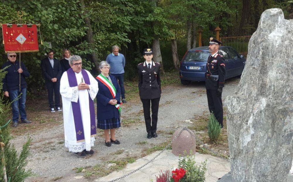 I Carabinieri di Gavi e il Comune hanno ricordato il sacrificio dell'Appuntato Vaccarella