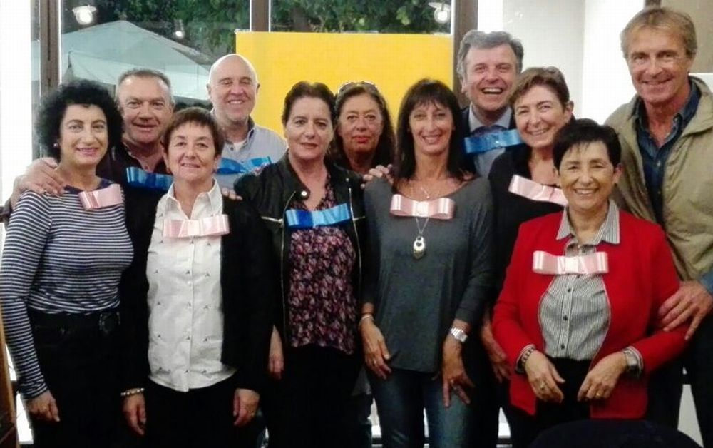 I compagni della prima elementare di Diano Marina si sono ritrovati dopo 52 anni