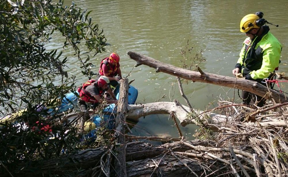 Felizzano, recuperato il corpo del cacciatore caduto nel Tanaro