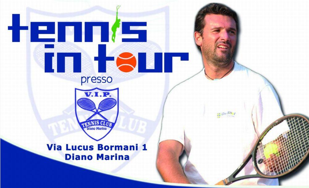 A Diano Marina il campione di Tennis Omar Camporese giocherà gratis con grandi e piccini. Grande evento aperto a tutti