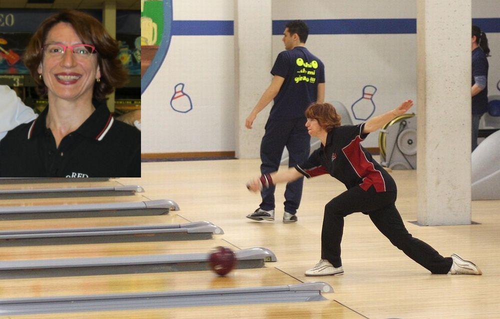 Vittoria Tiragallo di Imperia campionessa italiana di Bowling per la settima volta. Ha iniziato a Diano