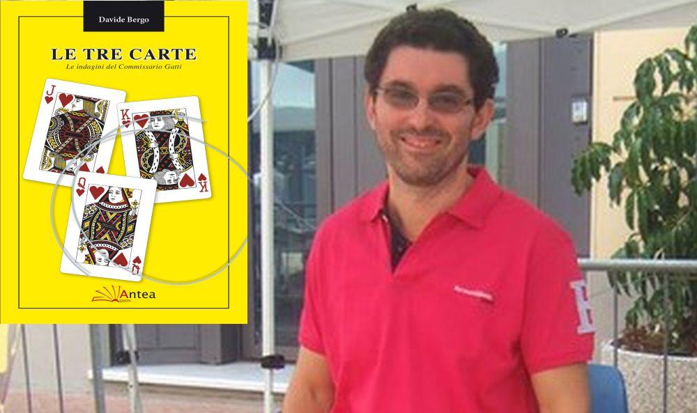"""""""Le tre carte"""" del dianese Davide Bergo, un giallo appassionante e meritevole di essere letto. Lo presentiamo il 29 dicembre"""
