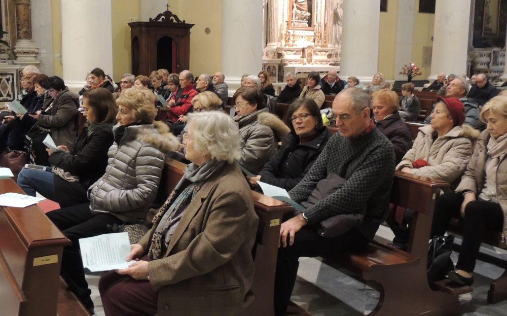 A Diano Marina applaudito il concerto del Coro Polifonico Pietrese./Le immagini