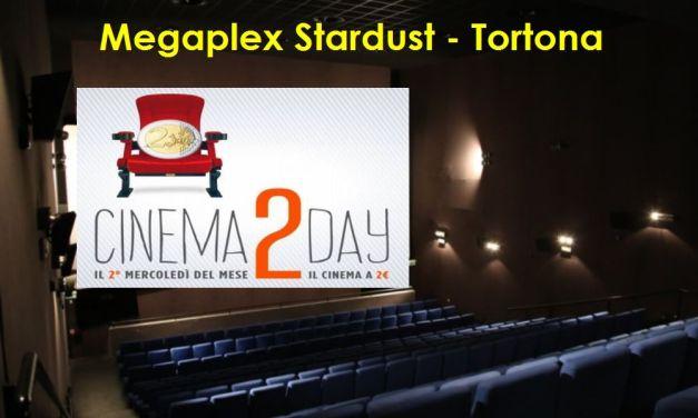 Mercoledì a Tortona si va al cinema con soli due euro e dal pomeriggio. Potete vedere tutti i film in prima visione