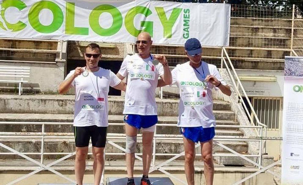 """Un novese sul podio degli """"Oncology Games"""""""