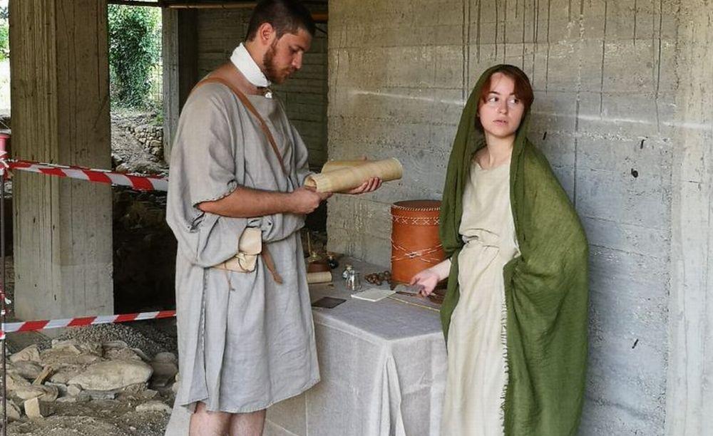 I giovani di San Bartolomeo diventano attori per far apprezzare ai turisti la Mansio Romana