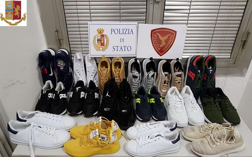 Numerosi sequestri di merce contraffatta effettuati dalla Polfer di Novi Ligure